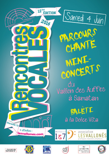 Rencontres Vocales 2013 - Flyers