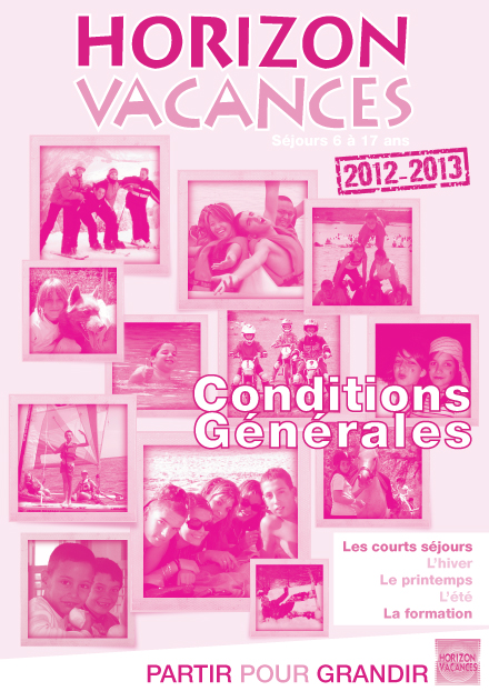 Horizon Vacances - Brochure